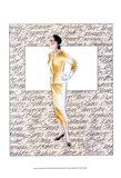 50's Fashion VII Art Print