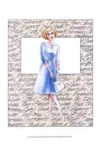 50's Fashion VIII Art Print