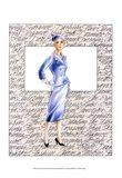 50's Fashion XI Art Print