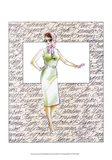 50's Fashion XII Art Print
