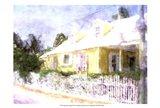 Street Cottage I Art Print