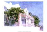 Street Cottage II Art Print