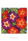 Flower Fiesta I Art Print