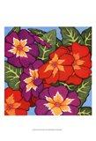 Flower Fiesta II Art Print