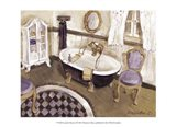Lavender Retreat I Art Print