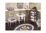 Lavender Retreat II Art Print