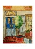 Greek Cafe III Art Print