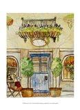 Greek Cafe IV Art Print