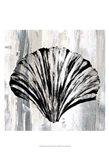 Black Shell I Art Print