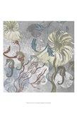 Seahorse Collage II Art Print