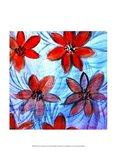Flower Strokes I Art Print