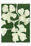 Green Blooms II Art Print