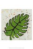 Planta Green I Art Print
