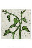 Planta Green V Art Print