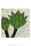 Planta Green VII Art Print