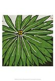 Planta Green VIII Art Print