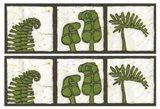 2-Up Verde Botanical I Art Print
