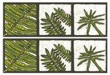 2-Up Verde Botanical III Art Print