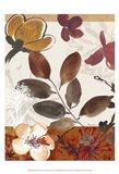 Modern Flowers I Art Print