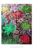 Flower Drift II Art Print