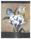White Tulips I Art Print