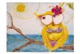 Ms. Hoo in Paradise Art Print