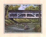 Ducks on the River Art Print