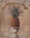 Pineapple Prosperity Art Print