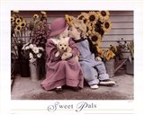 Sweet Pals Art Print