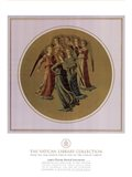 Angels Playing Musical Instruments, (The Vatican Collection) Art Print