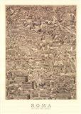 Antique Urbis Imago I, (The Vatican Collection) Art Print