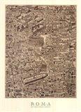 Antique Urbis Imago II, (The Vatican Collection) Art Print