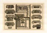 Della Magnificienza ed Architettura de Romani, (The Vatican Collection) Art Print