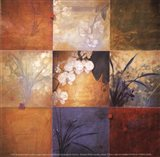 Orchid Nine Patch Art Print