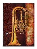 Tenor Horn Art Print