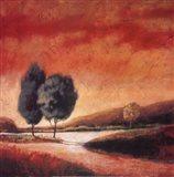 Country Road II Art Print