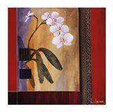 Orchid Lines I Art Print