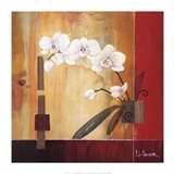 Orchid Lines II Art Print