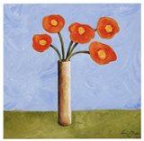 Marmalade Bouquet I Art Print