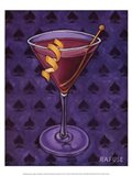 Martini Royale - Spades Art Print