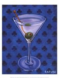 Martini Royale - Clubs Art Print