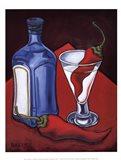 Cajun Martini Art Print