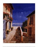 Villa by the Sea Art Print