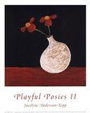 Playful Posies II Art Print