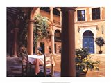 A Lemon Scented Courtyard Art Print