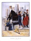 Jazz Band Art Print