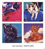 That's Cats Art Print