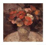 Vase of Poppies Art Print