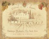 Chateau de la Royalle Art Print