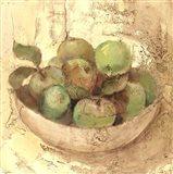 Sunlit Apples Art Print